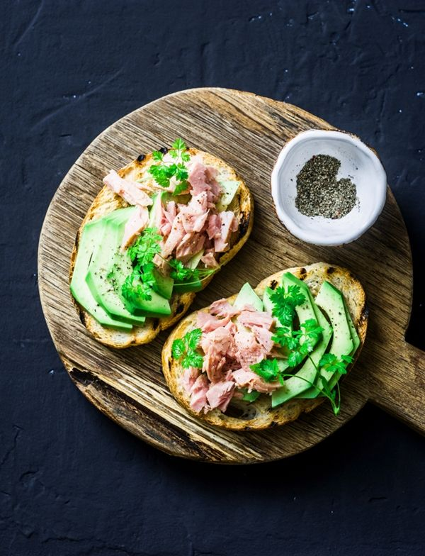 Superfood. Avocado and tuna tapas #superfoods