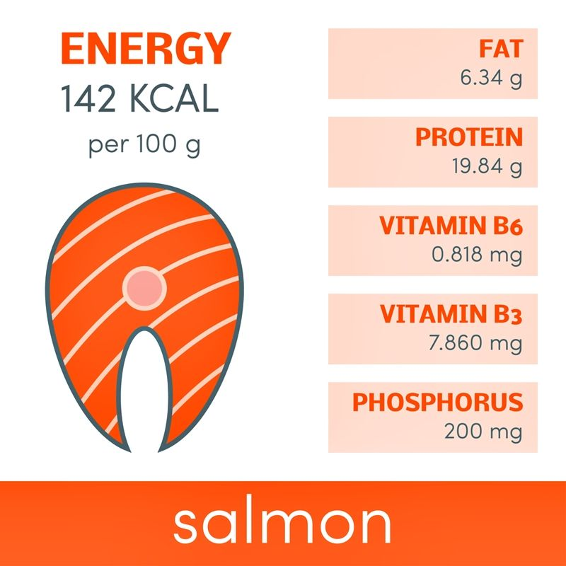 Weight loss: Foods you should eat. Salmon is a fatty fish, rich in healthy oils. It is packed full of essential fatty acids that promote numerous aspects of health and wellness.