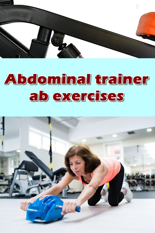 How to get started with your abdominal trainer