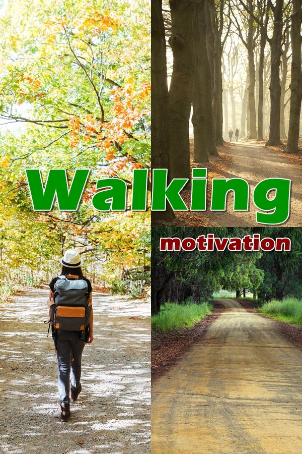 Walking motivation. One of the most significant aspects of walking would be the fact you take advantage of it, regardless of how much or how little you walk.