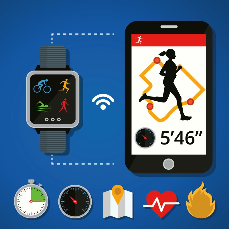 A fitness tracker works exceptionally well as a motivating friend, to establish and reach your workout goals, to keep track of your heart rate, you can use it also underwater, and besides tracking your sleep.