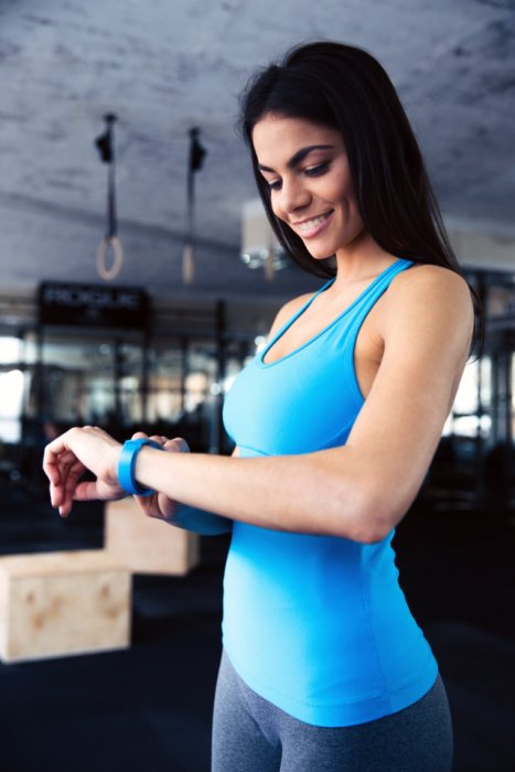 The first reason that a fitness tracker will improve your fitness is that you can track your targets way more easy.